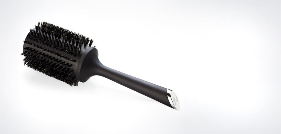 natural bristle radial brush size 4 1