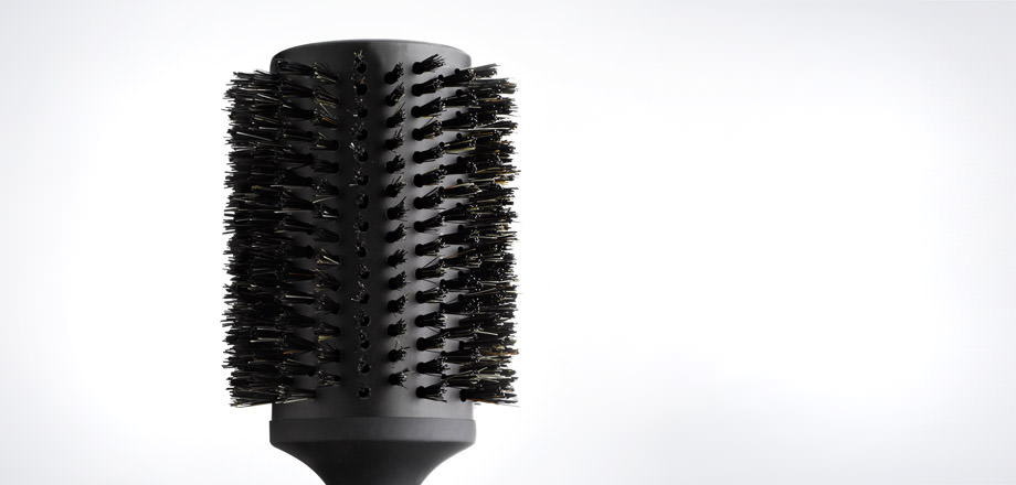 natural bristle radial brush size 4 2